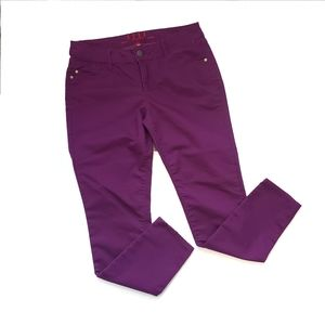 Elle Purple Skinny Jeans